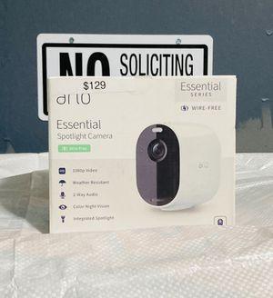 Arlo Essential WIRELESS Security Camera for Sale in Bensalem, PA