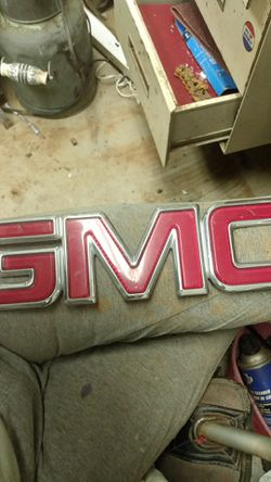 Large GMC front fender emblem for Sale in Chesnee,  SC