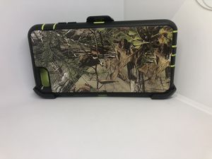 For iPhone 6 Plus / 6s plus green tree camouflage belt clip case for Sale in San Mateo, CA