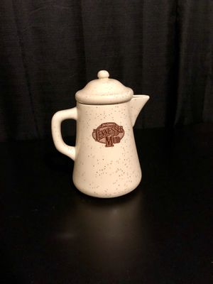 """JACK DANIELS Whiskey """"TENNESSEE MUD"""" Ceramic - Approx. 9"""" Coffee Pot/Pitcher for Sale, used for sale  Villa Park, CA"""