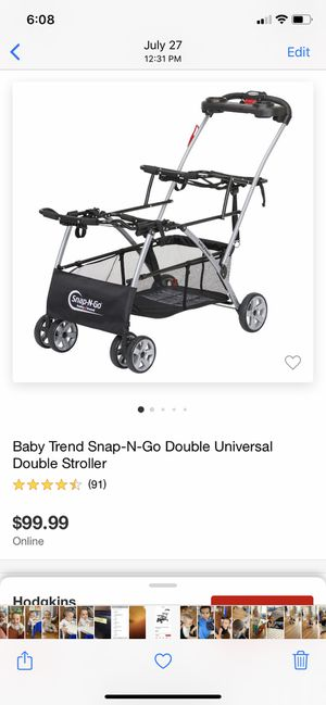 Snap and go stroller for Sale in Chicago, IL