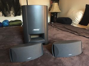Bose speakers, stands, subwoofer, remote for Sale in Carlsbad, CA