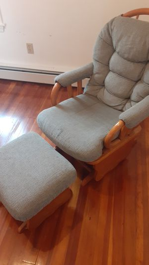 Rocking chair with stool for Sale in Berlin, MA