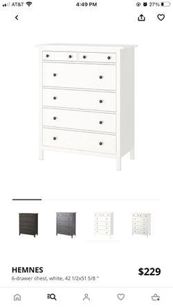 IKEA Hemnes dresser for Sale in Fullerton,  CA