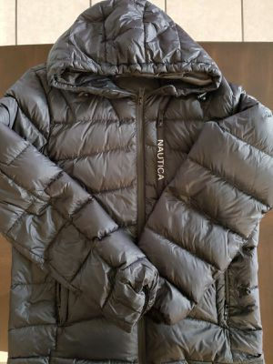Nautica Ultra Light Down Jacket Quilted Puffer for Men for Sale in Houston, TX