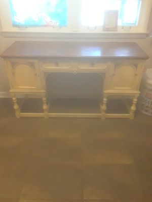 1920-1930 Jacobean style painted walnut for Sale in Indianapolis, IN