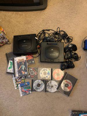 2 Sega Saturn +13+games 4controller for Sale in Renton, WA