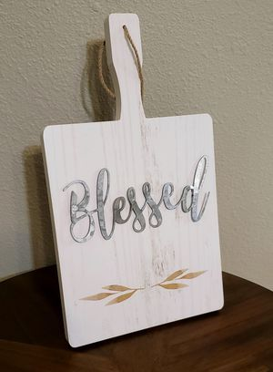 """New! """"Blessed"""" Cutting Board for Sale in Pasadena, TX"""