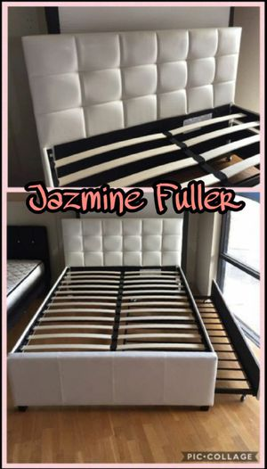 Full size over twin trundle bed frame for Sale in Peoria, AZ