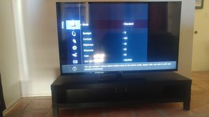 Samung 60-inch 1080p 120hz LED TV with Ikea stand for Sale in Scottsdale, AZ