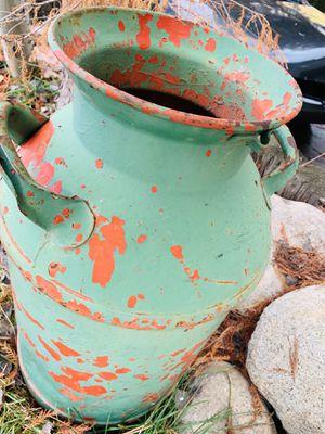 Vintage Metal Milk Container for Sale in Sandy, UT