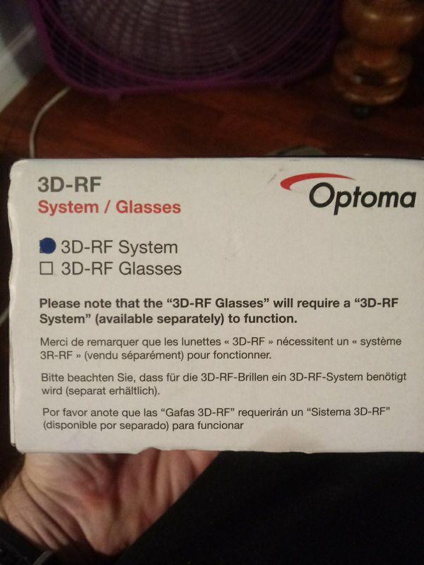 Optima 3d-rf system/Glasses
