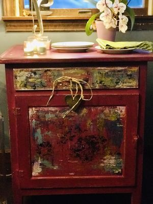 Furniture antique patina artistic for Sale in Auburn, MA