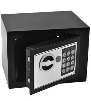 """Digital Electronic Safe Security Lock Box Wall Floor Jewelry Cash 9""""x 7""""x 6.8"""" for Sale in Rowland Heights, CA"""
