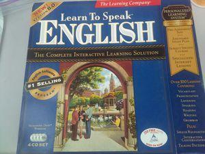 Learn to Speak English for Sale in Falls Church, VA