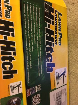Hi -Hitch lawn motor trailer hitch for Sale in Portsmouth, VA