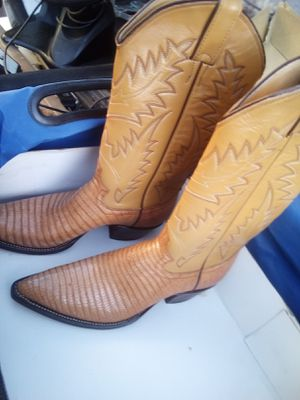 Nocona Lizard Skin Boot's for Sale in Fresno, CA