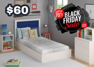 White Bed Frame ‼️Black Friday Sale‼️ for Sale in Dallas, TX
