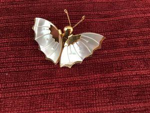 Mother of Pearl butterfly pin for Sale in Sierra Vista, AZ