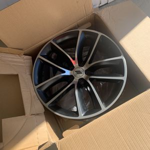 Scat Pack Charger Stock Rims. for Sale in Charlotte, NC
