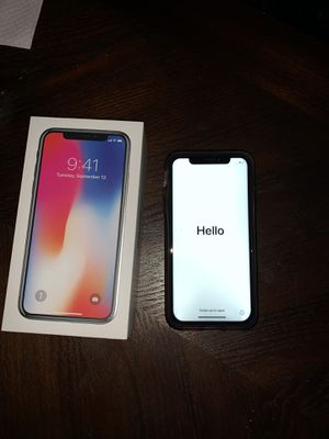 Apple iPhone X unlocked 64 gb for Sale in Levittown, PA