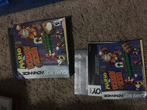 Mario vs Donkey Kong box and manual only for Sale in Monroe, WA