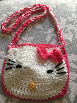 New (hand made)hello kitty girl purse for Sale in Sterling, VA