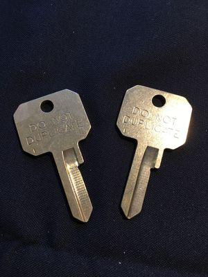 MASTER LOCK DO NOT DUPLICATE KEY BLANKS (2) for Sale in Warwick, RI