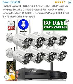 OOSSXX 1080P Security Cameras for Sale in San Angelo,  TX
