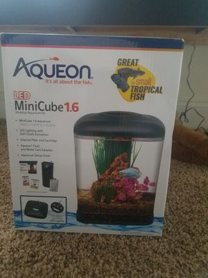 Betta fish tank, food, treats and sanitizer. for Sale in Baltimore, MD