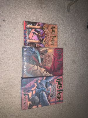 First 3 Harry Potter books - like new for Sale in Marietta, GA