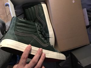 "Vans vault Sk8 hi Lx Zip ""sycamore"" size 13 for Sale in Cleveland, OH"