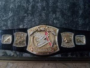 2005 WWE WORLD CHAMPIONSHIP MINI BELT SPINNER WRIST BRACELET WRESTLING WWE JOHN CENA for Sale in Chicago, IL