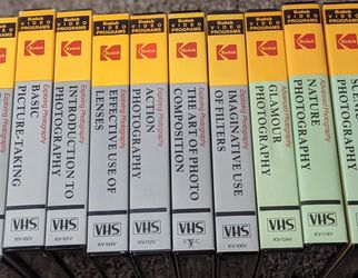 Kodak Photography Series On VHS for Sale in Webster,  NY