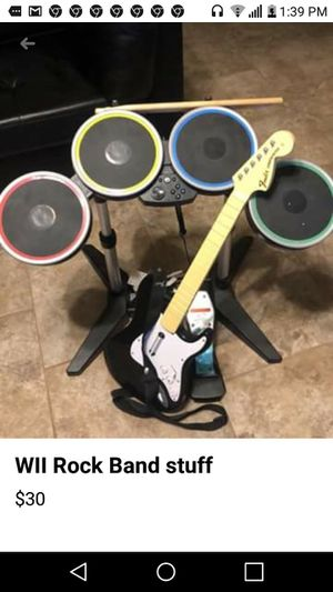 Wii band Drum set for Sale in Greenville, SC