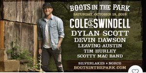 Cole Swindell 2 GA Tickets This Saturday for Sale in Chino, CA