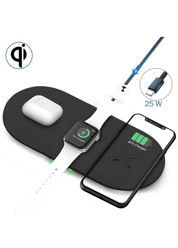 Wireless Charger Pad 3 in 1