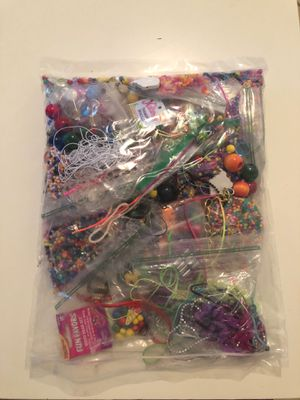 Large grab bag of misc beads, strings, etc for Sale in San Diego, CA