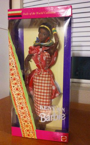 MATTEL DOLLS OF THE WORLD-SPECIAL EDITION- KENYAN BARBIE DOLL for Sale in Austin, TX
