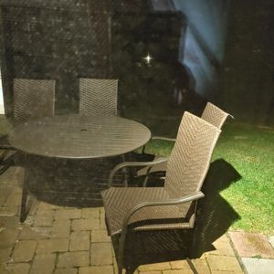 Outdoor Table With 4 Chairs for Sale in Mount Airy, MD