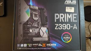 ASUS PRIME Z390-A Motherboard + INTEL i5-6600K CPU 3.5 ghz w/ 1 x 4gb ddr4 and 1 x 8gb ddr4 ram for Sale in Fullerton, CA