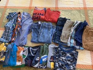 25 pieces boys clothes size 3t and 5t for Sale in Falls Church, VA