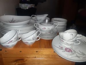 Windsor rose fine china for Sale in Brainerd, MN
