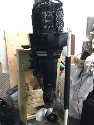 Willing to trade for a quad two motors outboard and a lead value all of it at 2500 or a snowmobile for Sale in Larchmont, NY
