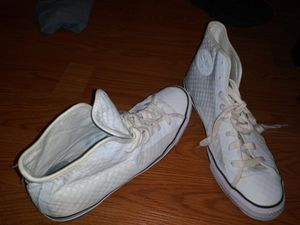 High Top All White Converse Chucks MENS SIZE 11 Never Used for Sale in Boston, MA