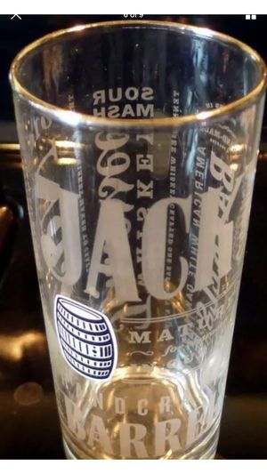 Set of 2 Jack Daniels Special Printed Collectable glass 2 Mint Condition for Sale in Raleigh, NC
