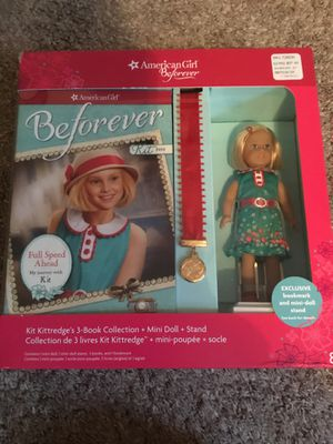 American girl kit 3 book collection NEW for Sale in Ingleside, IL