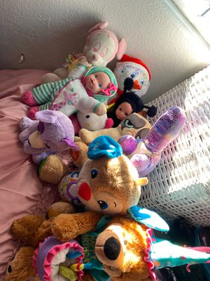 10 stuffed animals for Sale in Fontana, CA