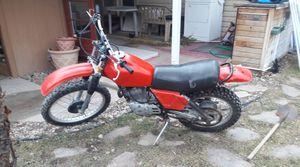 Dirt bike 1981 Honda XL 500 for Sale in Salt Lake City, UT