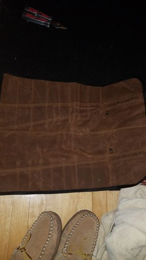 Waxed canvas tool roll for Sale in Haverhill, MA